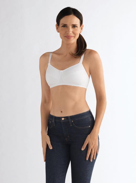 Soutien-gorge pour prothèse mammaire modèle Ruth Sans Armatures-AMOENA