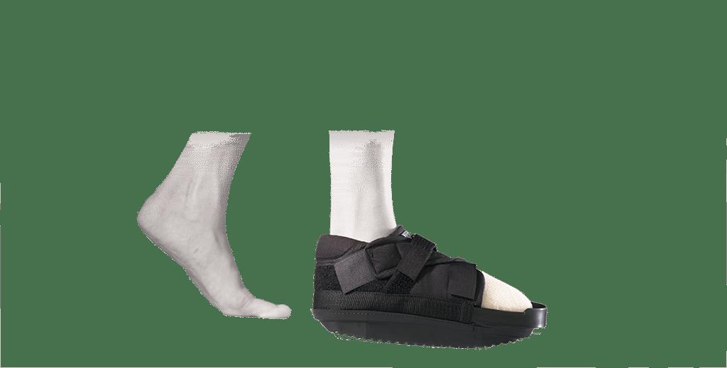 Chaussure à décharge de l'avant pied CHV - SOBER