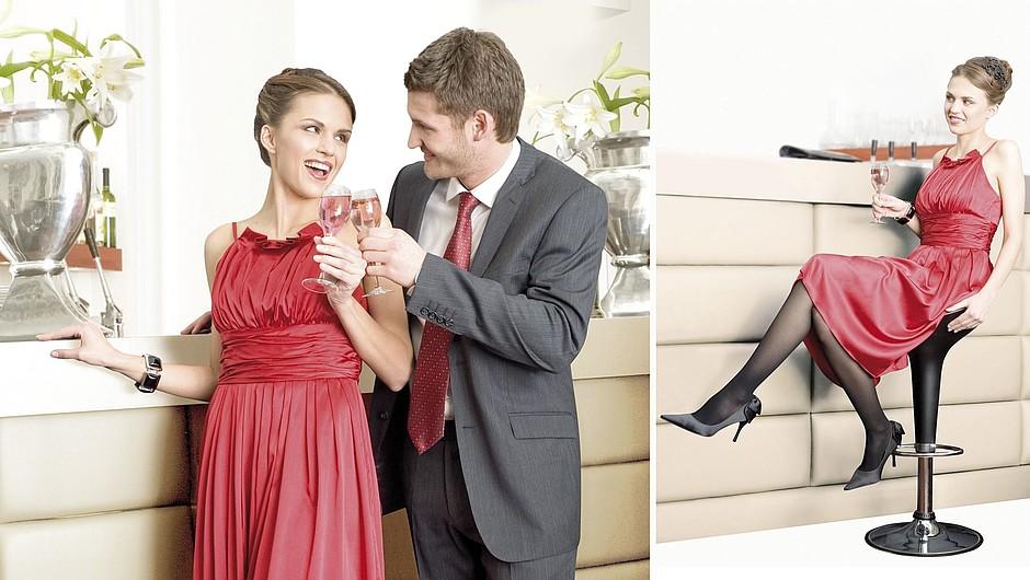 Chaussette de contention classe 2 modèle seduction MEDIVEN