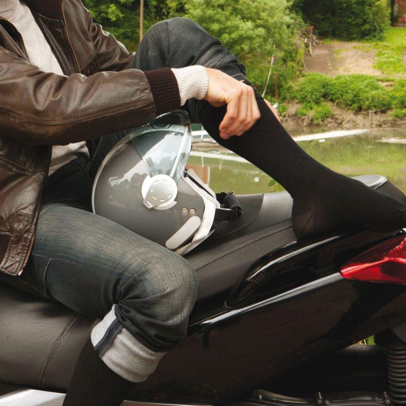 Chaussette de contention homme classe 3 venoflex fast coton THUASNE