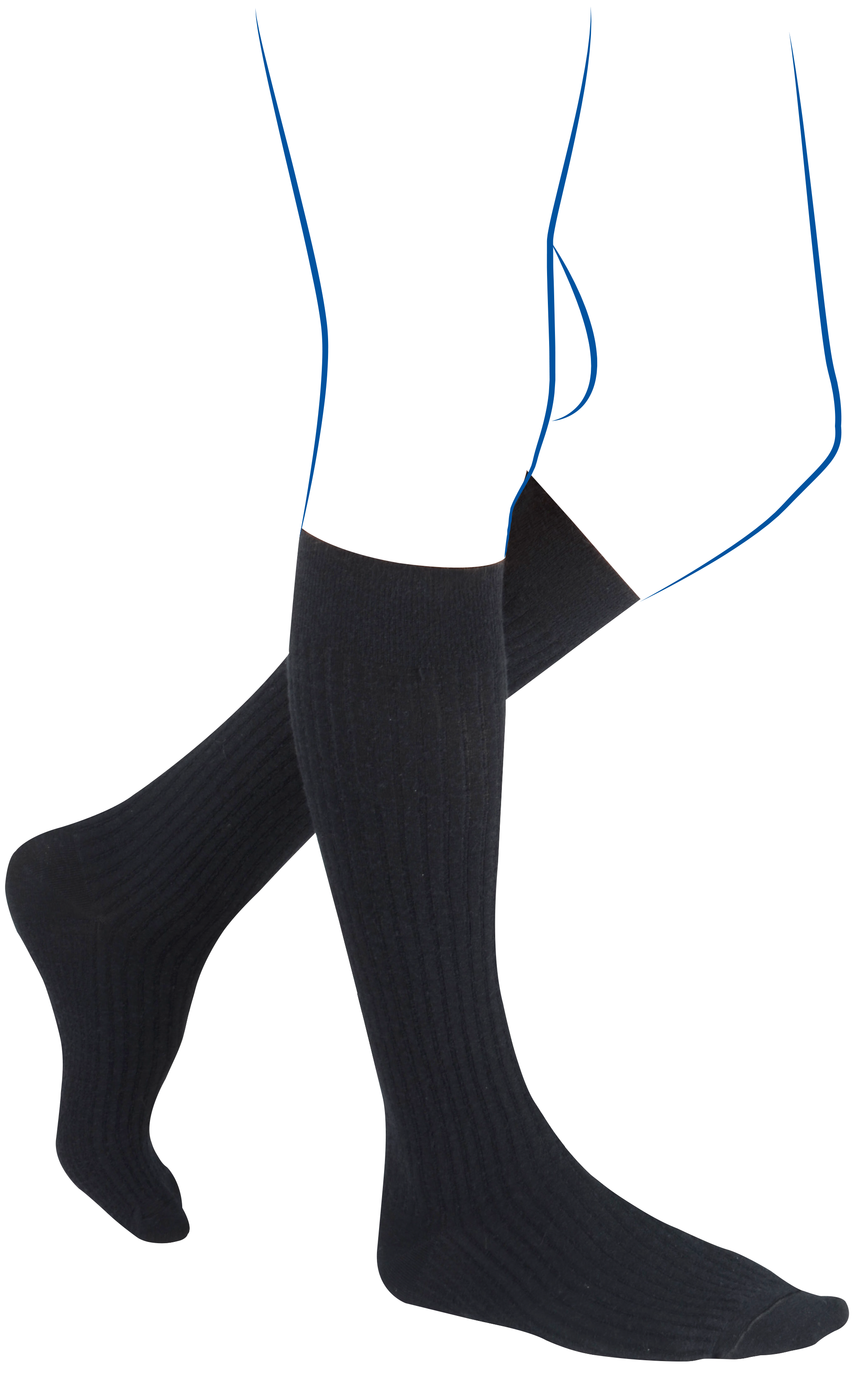 Chaussette de contention homme classe 3 venoflex fast line THUASNE