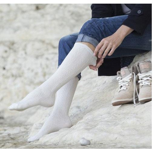 Chaussette de contention homme classe 2 venoflex fast laine THUASNE